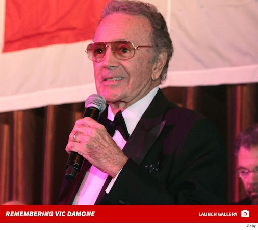 LEGENDARY SINGER VIC DAMONE DEAD AT 89 Vic Damone , who is considered one of the best singers of his...