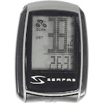 Serfas 14-Function Slim Wired Cycling Computer - Si-20