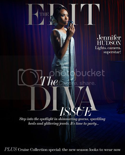 Snapshots: Jennifer Hudson goes glam for 'The Edit'...