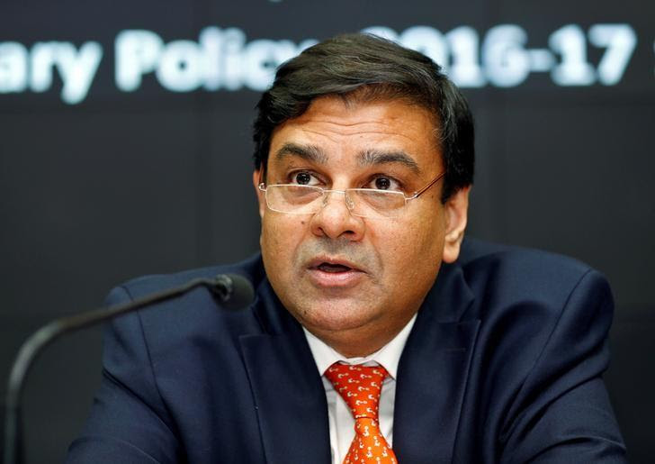 The Reserve Bank of India (RBI) Governor Urjit Patel speaks during a news conference in Mumbai, India, October 4, 2016.   REUTERS/Danish Siddiqui/File Photo