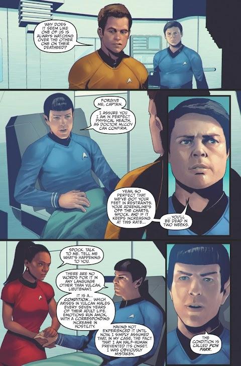 Star Trek Into Darkness Comic