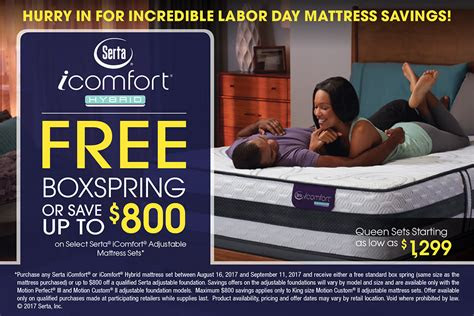 dunk  bright labor day mattress promotions