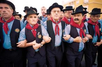 Os grupos de cantares alentejanos existem por todo o país