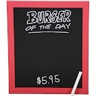 Burger of the Day Wall Art