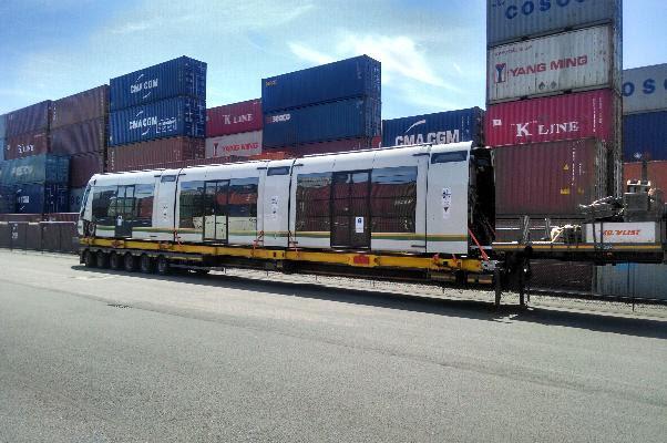 Desde Bélgica zarpó rumbo a Medellín primer vagón del tranvía