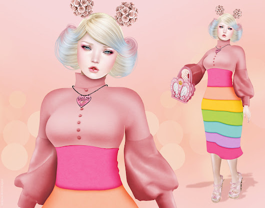 I Love Pink ~ Poison Girls - The fashion world at your fingertips.