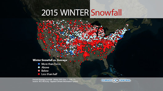 Dry or Snowy? Winter Weather Splits the U.S. | Climate Central