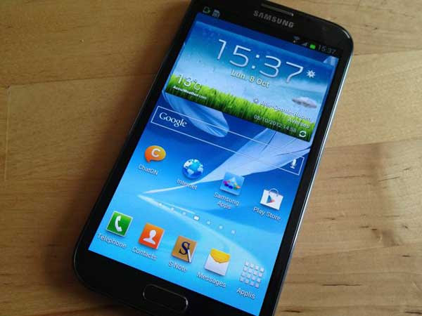 Samsung Galaxy Note 2 Samsung Galaxy Note 2   A Gigantic Beast [Review]