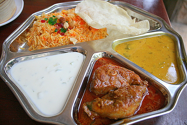 Chicken Briyani Platter