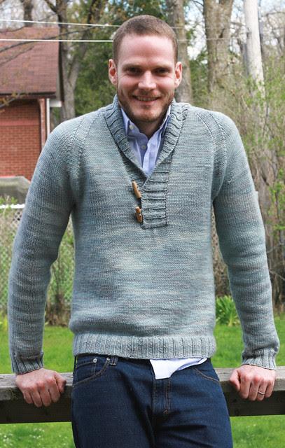Chris lovin' his new Brownstone Pullover!