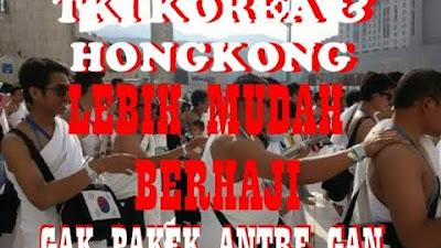 Bahagianya Bertemu Sesama Haji WNI/ TKI di Hongkong dan Korea: Tak Perlu Antre Seperti di Indonesia