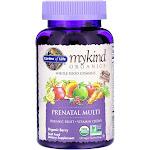 Garden Of Life, mykind Organics Prenatal Multi gummies, 120 Gummies