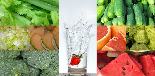 The Best Fruits and Vegetables To Keep You Hydrated