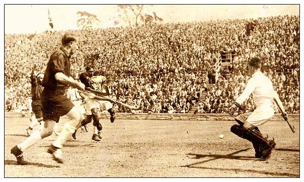 File:Indian hockey team 1932 Olympics match.jpg