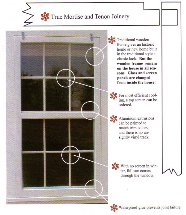 Traditional Wood Storm Windows