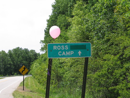 Ross Camp Sign