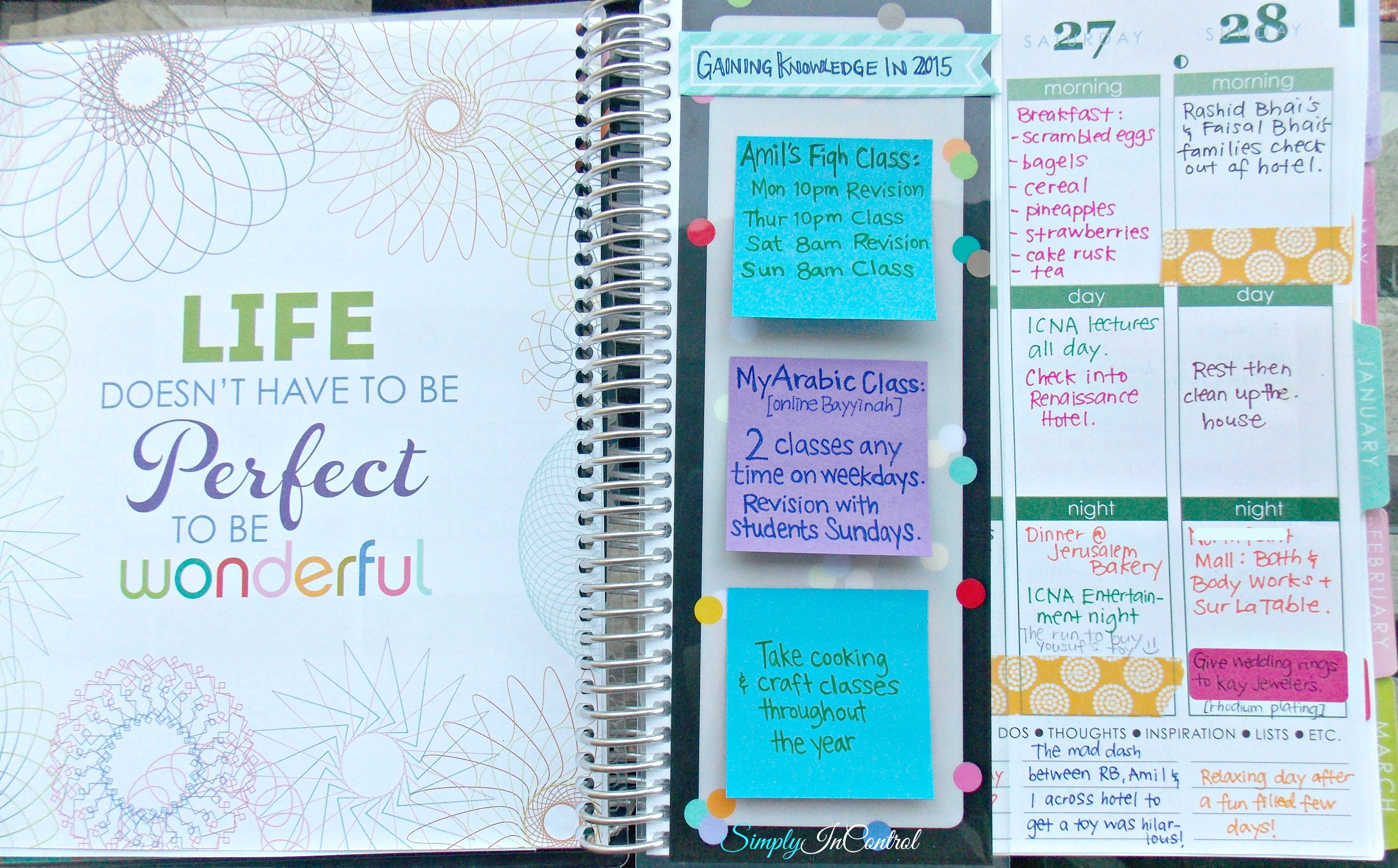 Daily Planner Inspirational Quotes