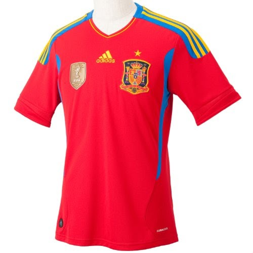 abb8289b72a SPAIN Champions Home Shirt 2010 11 On Sale