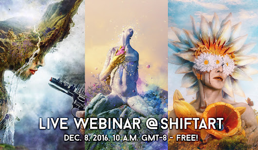 Photoshop Webinar with Mario Sámchez Nevado on ShiftArt