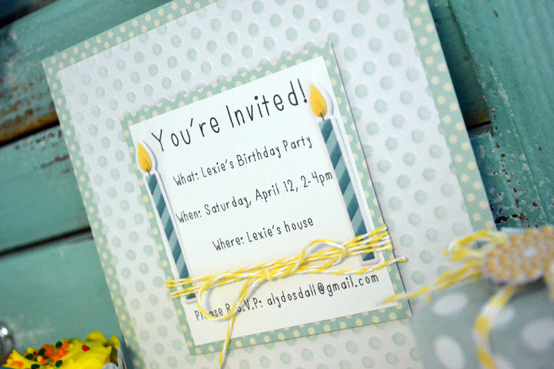 We R Dots Birthday Set by Aly Dosdall_close 1