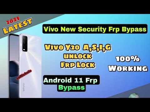 Vivo Y20A Frp Bypass PD 2060 Vivo Y20 Frp Reset Without any tool Latest ...