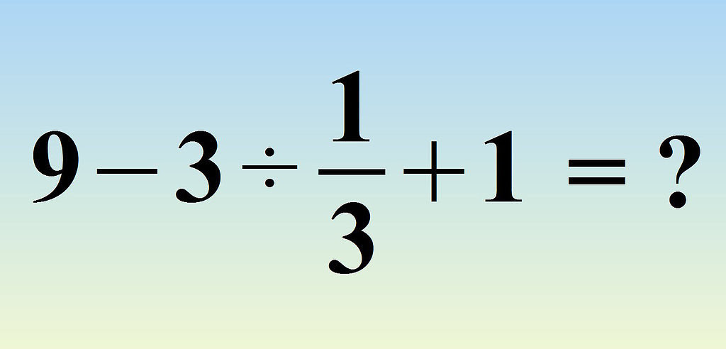 A lot of people are having trouble with this math problem ...