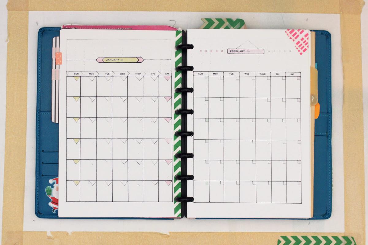 Planner Templates, 5.5 x 8.5 | Amanda Hawkins | Ahhh Design