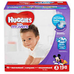 Huggies Little Movers Plus Size 3 - 198 Count