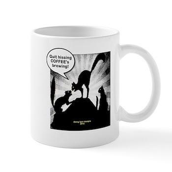 Funny Coffee Cats Mug