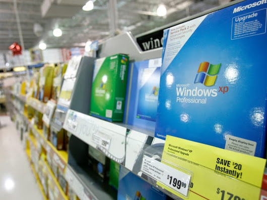 It's the end of the line for Windows XP