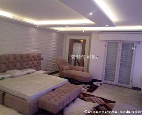 Decoration Platre Plafond Chambre A Coucher Simple