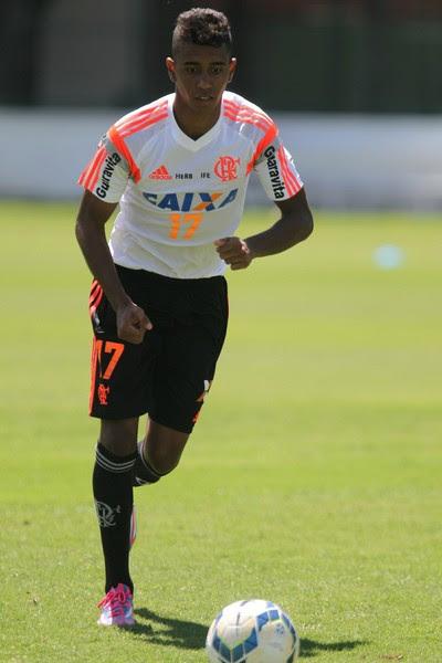 Gabriel, Flamengo, Ninho do Urubu (Foto: Gilvan de Souza/Fla Imagem)