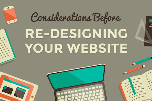 Cautions need to take while redesigning a website