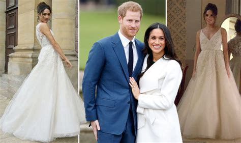 Meghan Markle wedding dress designer revealed? Prince