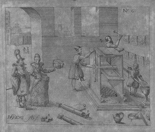 Heinrich Zeising - Theatri machinarum Erster - 1613 b