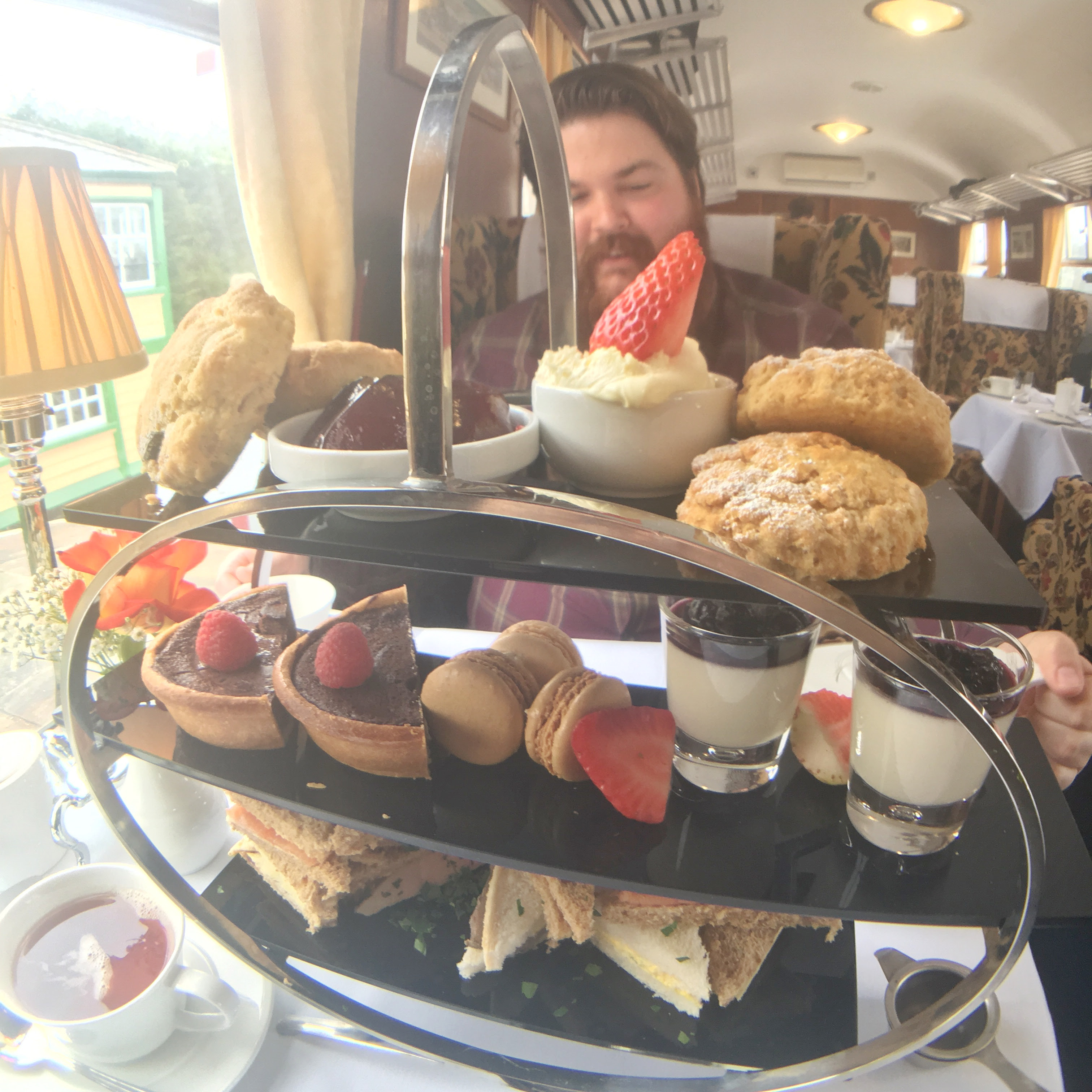 Review: Afternoon Tea At Carriages Of Cambridge