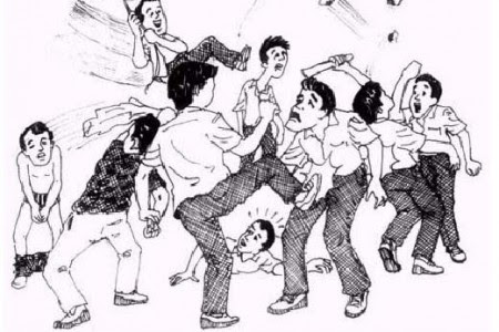 Download 700 Wallpaper Animasi Tawuran HD Gratis