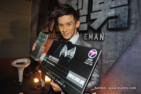 Joel Sih (winner of The Perfect Gentleman)