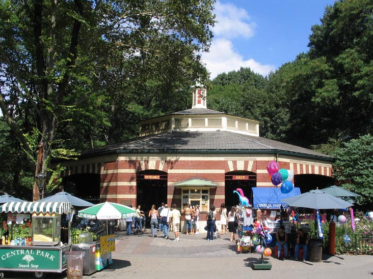 Friedsam Memorial Carousel, Central Park, Manhattan
