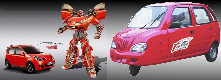 Imaginário dos Carros Chineses