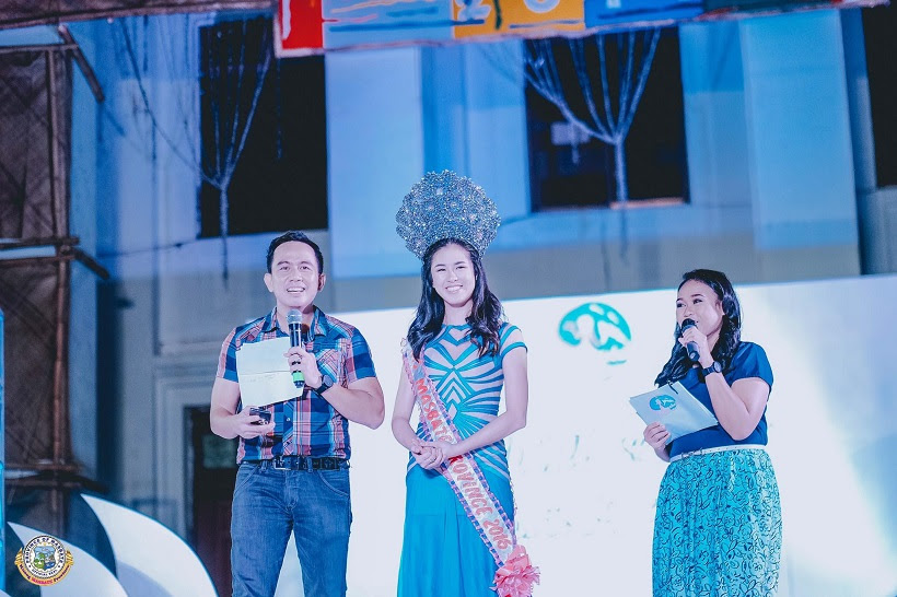 Filipino motivational speaker interviews Miss Masbate Province 2016 Kisses Delavin