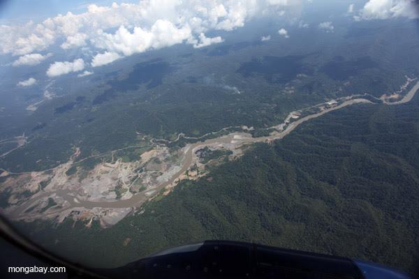 Gold mine outside of Puerto Maldanado, Peru.