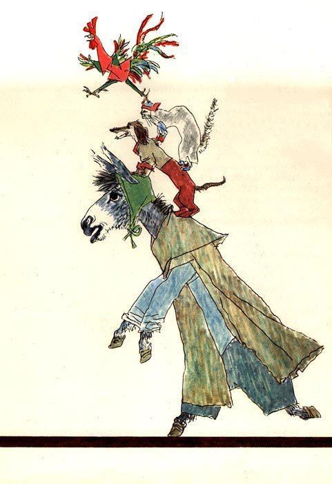Babushka Vyuga (Frau Holle) - Grimm Brothers d