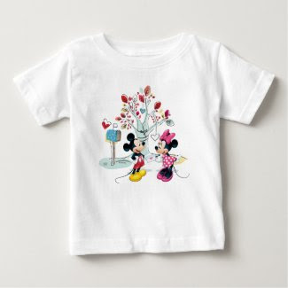Mickey & Minnie | Valentine's Day 2 Baby T-Shirt