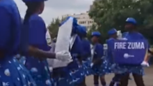 Were anti-Zuma protests racist? Watch and decide for yourself...