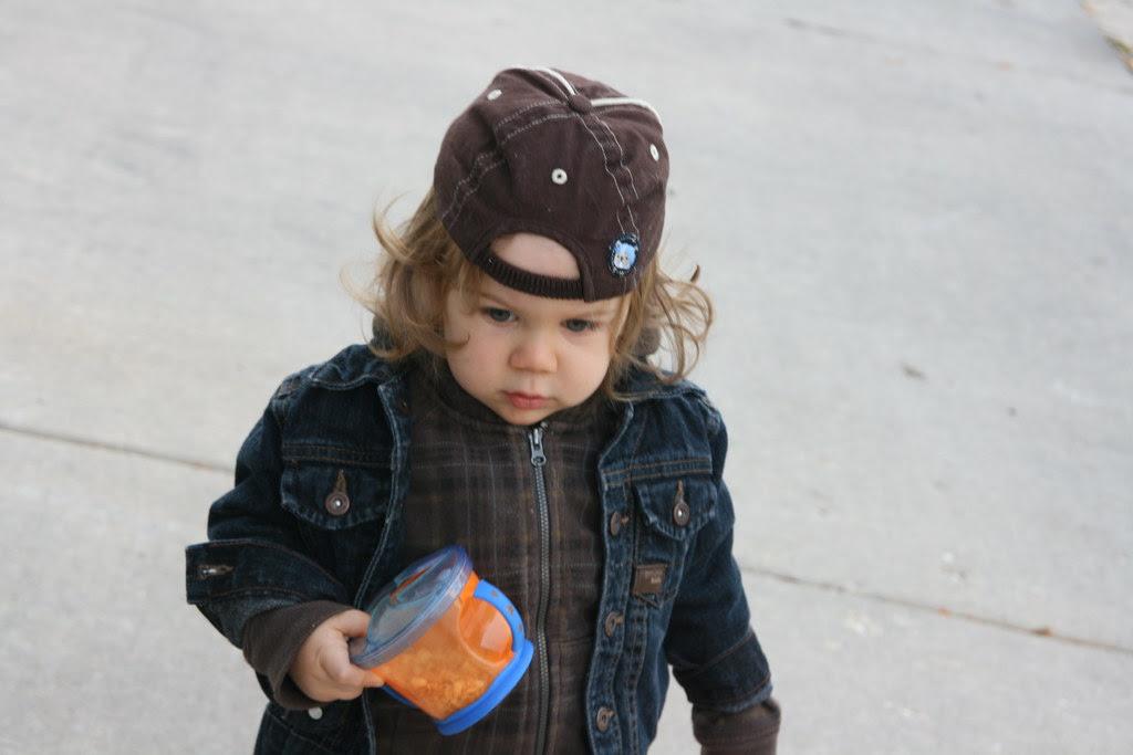 Long hair, little boy