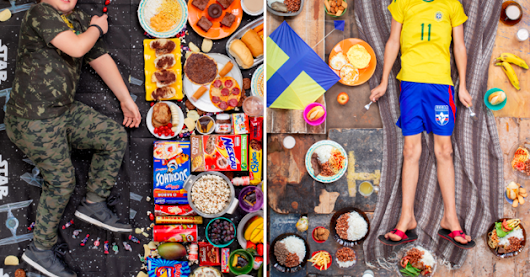 Here's What Kids All Over The World Eat Every Week, According To This Photography Project