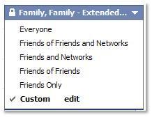 Facebook Settings Enumerated