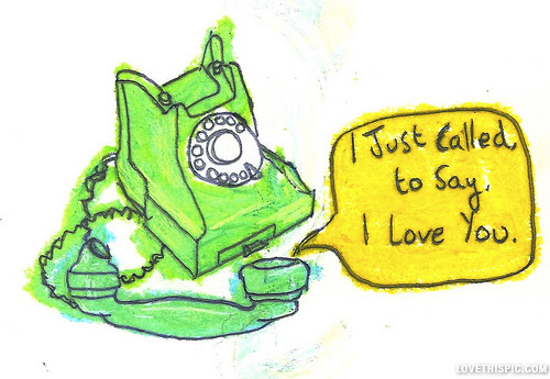 I Just Called To Say I Love You Pictures Photos And Images For