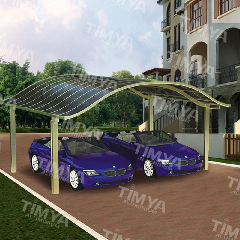 Newest Design Solar Carport Canopy With Aluminum Frame ...